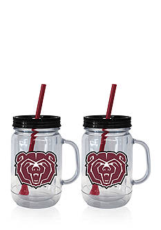 Boelter 20-oz. NCAA Missouri State Bears 2-pack Straw Tumbler with Handle