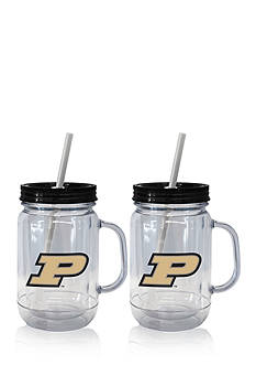 Boelter 20-oz. NCAA Purdue Boilermakers 2-pack Straw Tumbler with Handle