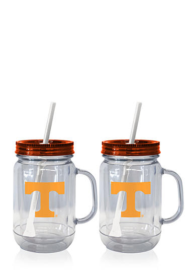 Boelter 20-oz. NCAA Tennessee Volunteers 2-pack Straw Tumbler with Handle