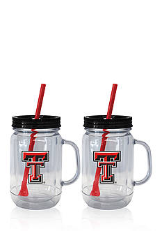 Boelter 20-oz. NCAA Texas Tech Red Raiders 2-pack Straw Tumbler with Handle