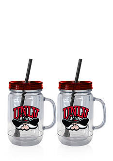 Boelter 20-oz. NCAA UNLV Rinnin Rebels 2-pack Straw Tumbler with Handle