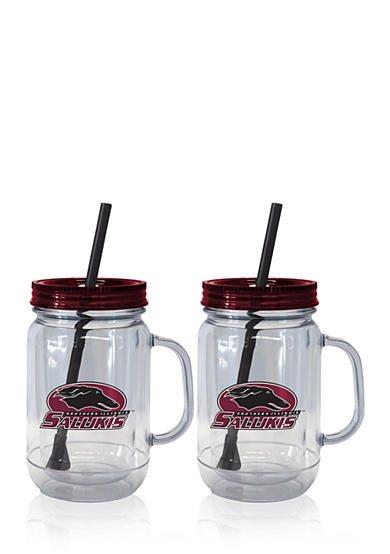 Boelter 20-oz. NCAA Southern Illinois Salukis 2-pack Straw Tumbler with Handle