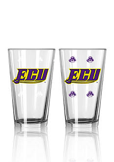 Boelter 16-oz. NCAA East Carolina 2-pack Color Change Pint Glass Set