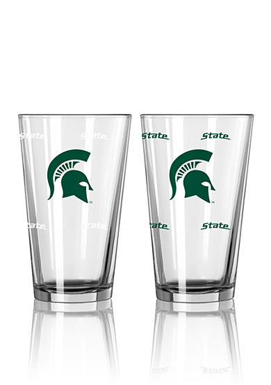 Boelter 16-oz. NCAA Michigan State 2-Pack Color Change Pint Glass Set