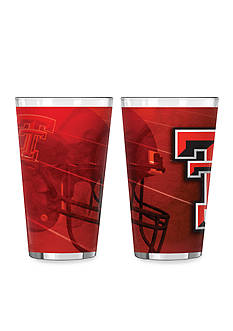 Boelter 16-oz. NCAA Texas Tech 2-pack Shadow Sublimated Pint Glass Set
