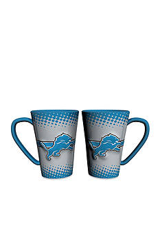 Boelter 16-oz. NFL Detroit Lions 2-pack Latte Coffee Mug Set