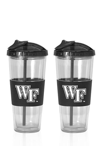 Boelter 22-oz. NCAA Wake Forest Demon Deacons 2-pack No Spill Straw Tumbler