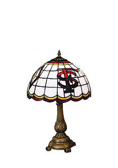 Memory Company NCAA Florida State University Seminoles Tiffany Stained Glass Table Lamp