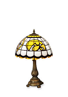Memory Company NCAA University of Iowa Hawkeyes Tiffany Stained Glass Table Lamp