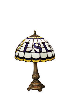 Memory Company NCAA Louisiana State University Tigers Tiffany Stained Glass Table Lamp