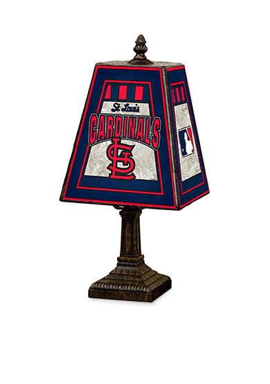 Memory Company MLB St. Louis Cardinals 14-in. Art-Glass Lamp