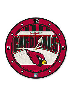 Memory Company NFL Arizona Cardinals 12-in. Art-Glass Clock