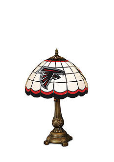 Memory Company NFL Atlanta Falcons Tiffany Stained Glass Table Lamp