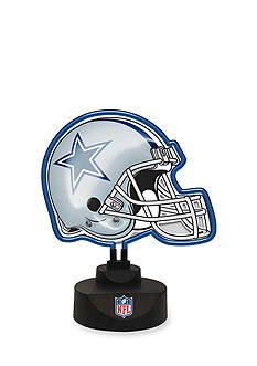 Memory Company NFL Dallas Cowboys Neon Helmet Desk Lamp
