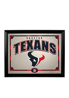 Memory Company NFL Houston Texans Framed Mirror
