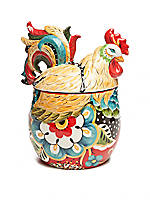 Home Accents Emily Rooster Cookie Jar