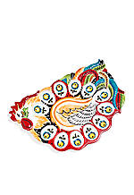 Emily Rooster Egg Plate 16.5-in. x 11.5-in. x 1.25-in.