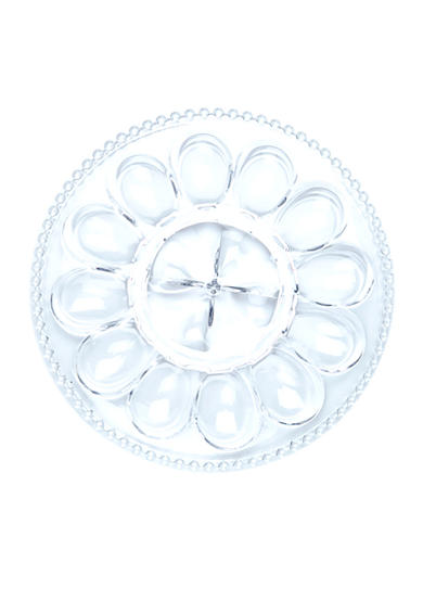 Home Accents® Beaded Egg Dish