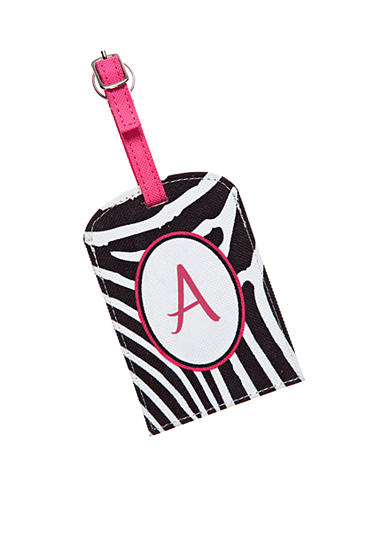 Home Accents® Monogram Luggage Tag