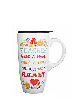 Home Accents® Teacher Boxed Latte Mug