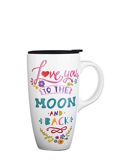 Home Accents® Love to the Moon Boxed Latte Mug