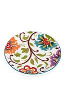 Home Accents® 9-in. Round Floral Salad Plate