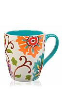 Home Accents® 17-oz. Floral Mug