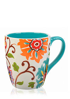 Home Accents 17-oz. Floral Mug