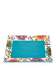 Home Accents 15-in. x 11-in. Rectangular Serving Platter