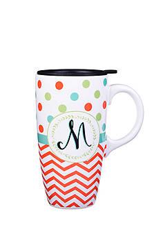Home Accents Monogram Boxed Latte Mug