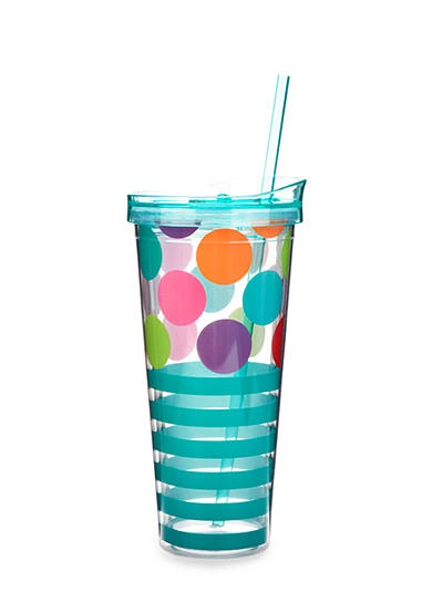 Home Accents® Stripe Tumbler