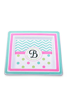 Home Accents Monogram Trinket Tray