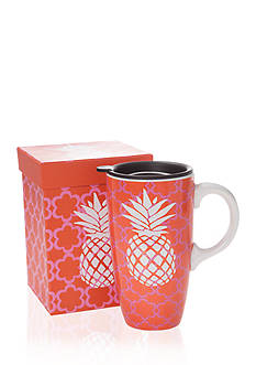 Home Accents® Pineapple Boxed Latte Mug