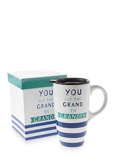 Home Accents® 20-oz. 'You Put the Grand In Grandpa' Latte Mug