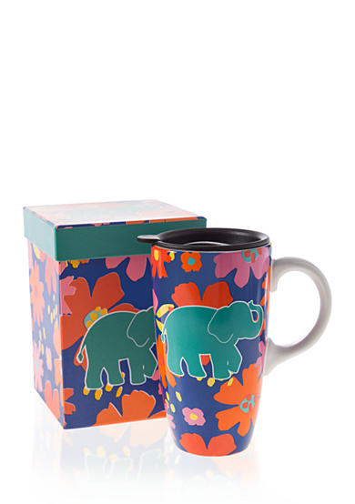 Home Accents® Elephant Boxed Latte Mug
