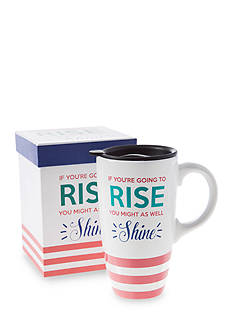 Home Accents® 20-oz. Rise & Shine Latte Mug