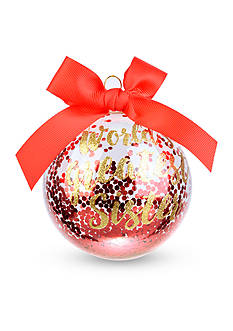 Home Accents® 3.75-in. 'World's Greatest Sister' Boxed Ornament