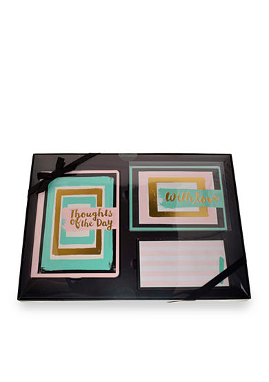 Home Accents® 3-Piece 'Thoughts of the Day' Stationary Set