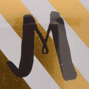 Decorative Accents: Letter M Home Accents 3-Piece Monogram Stationary Set