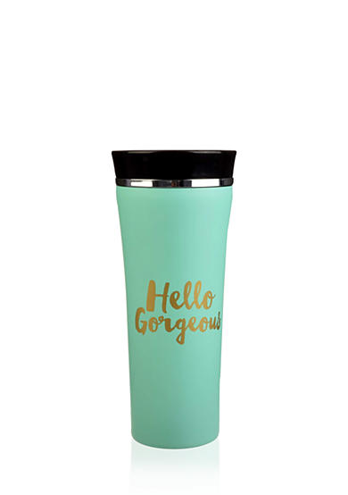 Home Accents® 'Hello Gorgeous' Stainless Steel Tumbler