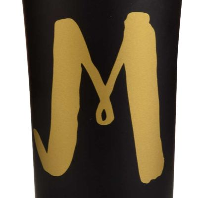 For the Home: Coffee Sale: M Home Accents 16-oz. Monogram Stainless Steel Tumbler