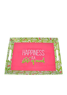 Home Accents® Tropical Happiness Is A State Of Mind Day Serving Tray