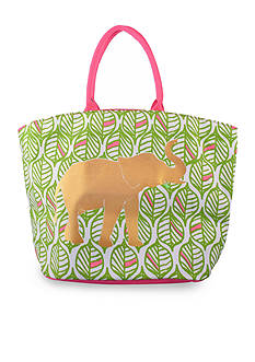 Home Accents Tropical Elephant Tote Bag