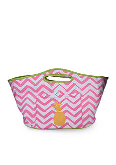 Home Accents Tropical Pineapple Insulated Cooler Bag