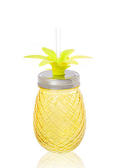 Home Accents® Nautical Prep 16-oz. Pineapple Glass Sipper