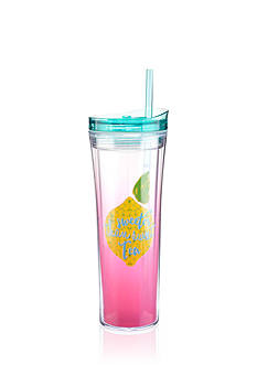 Home Accents® Tropical 17-oz. Sweeter Than Sweet Tea Tumbler