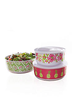 Home Accents Tropical 6-Piece Nested Food Storage Set