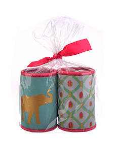 Home Accents Tropical Elephant Can Cooler Set