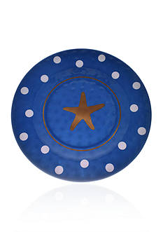 Home Accents Nautical Prep Starfish Dinner Plate