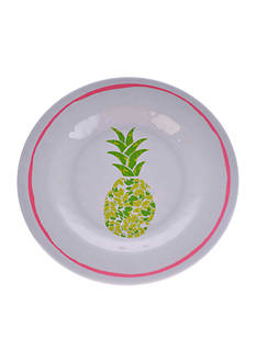 Home Accents® Tropical Pineapple Salad Plate